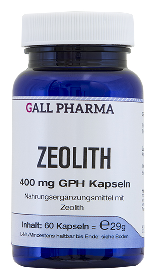 zeolith 400 mg gph kapseln kaufen hecht pharma gmbh. Black Bedroom Furniture Sets. Home Design Ideas