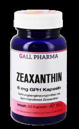 Zeaxanthin 6 mg GPH Kapseln