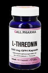 L-Threonin 500 mg GPH Kapseln