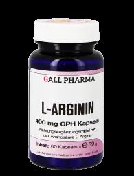 L-Arginin 400 mg GPH Kapseln