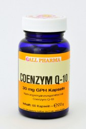 Coenzym Q-10 30 mg GPH Kapseln