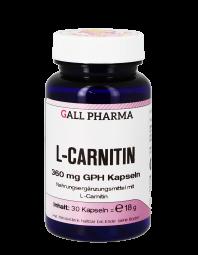 L-Carnitin 360 mg GPH Kapseln