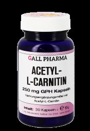 Acetyl-L-Carnitin 250 mg Kapseln