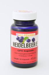 Heidelbeer E 400 mg GPH Kapseln
