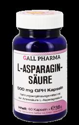 L-Asparaginsäure 500 mg Kapseln 60 St