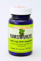 Yamswurzel 500 mg GPH Kapseln