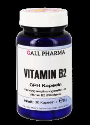 Vitamin B2 1,6 mg GPH Kapseln