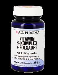 Vitamin B Komplex + Folsäure GPH Kapseln
