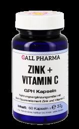 Zink + Vitamin C GPH Kapseln