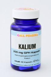 Kalium 200 mg GPH Kapseln