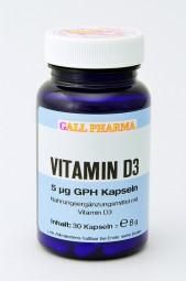 Vitamin D3 5 µg GPH Kapseln