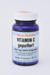 Vitamin C gepuffert 100 mg GPH Kapseln