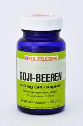 Goji-Beeren 500 mg GPH Kapseln