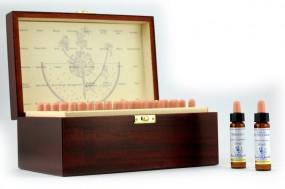 Healing Herbs Bachblüten-Set + Holzbox 40*10ml 142