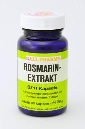 Rosmarinextrakt GPH Kapseln