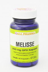 Melisse 200 mg GPH Kapseln