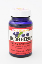 Heidelbeer P 400 mg GPH Kapseln