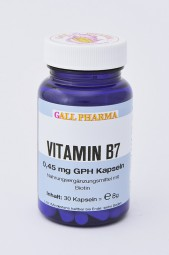 Vitamin B7 2,5 mg GPH Kapseln