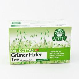Dr. Kottas Grüner Hafertee mit Kakaoschalen Filterbeutel 20 St.