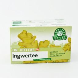 Dr. Kottas Ingwertee mit Lemongras Filterbeutel 20 St.