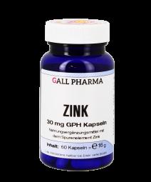 Zink 30 mg GPH Kapseln