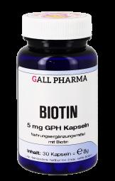 Biotin 5 mg GPH Kapseln