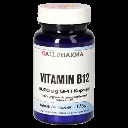 Vitamin B12 5000 µg GPH Kapseln