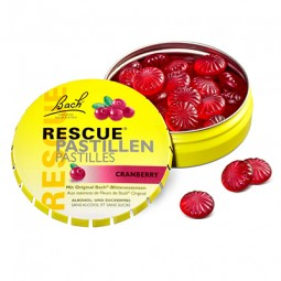 Rescue Pastillen Cranberry 50 g Bach Original
