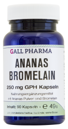 Ananas Bromelain 250 mg GPH Kapseln