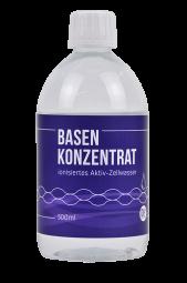 Basenkonzentrat - ionisiertes Aktiv-Zellwasser