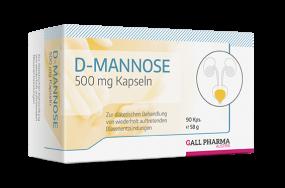 D-Mannose 500 mg GPH Kapseln