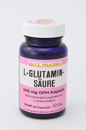 L-Glutaminsäure 400 mg GPH Kapseln