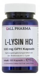 L-Lysin 500 mg GPH Kapseln
