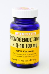 Pycnogenol® 50 mg + Q-10 100 mg GPH Kapseln
