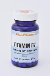 Vitamin B7 0,45 mg GPH Kapseln